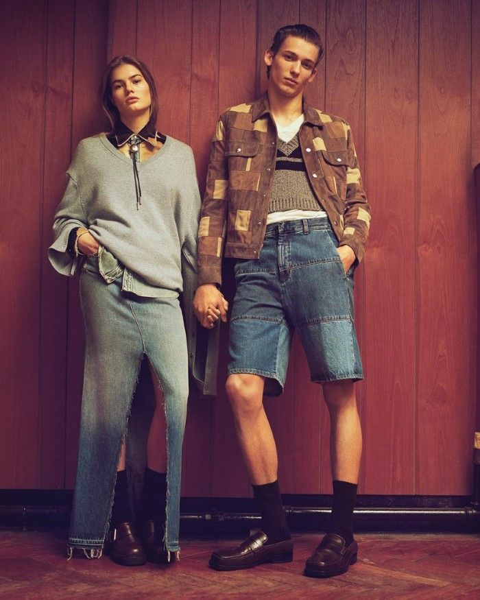 Myrthe Bolt & Christopher Einla In 'Good Jeans' By Ben Weller For WSJ Magazine April 2017  http://www.anneofcarversville.com/style-photos/2017/4/6/myrthe-bolt-christopher-einla-in-good-jeans-by-ben-weller-for-wsj-magazine-april-2017