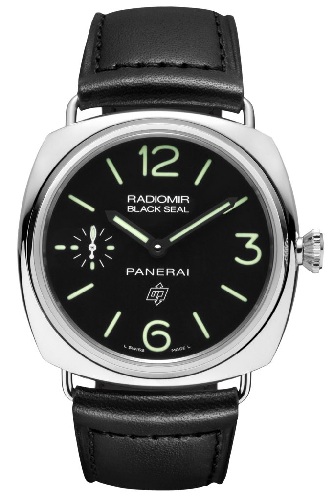 Radiomir Black Seal Logo Acciaio - 45mm PAM00380 - Collection Radiomir - Officine Panerai Watches