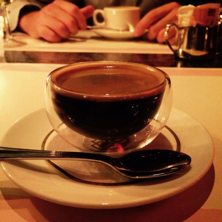 A little glass ball of espresso ☕️