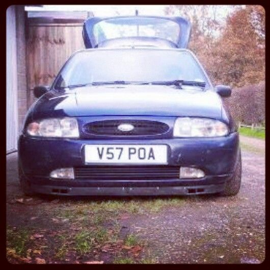 Ford Fiesta Roof Rack >> Ford fiesta | Ford Fiesta MK4 | Pinterest | Ford and Cars
