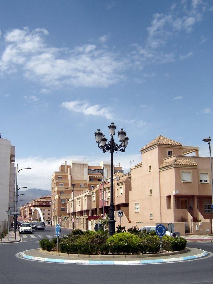 Roquetas de Mar - Calle de Miguel Indurain ***photo: Robert Bovington #Roquetas de Mar article: http://www.unique-almeria.com/roquetas-de-mar.html