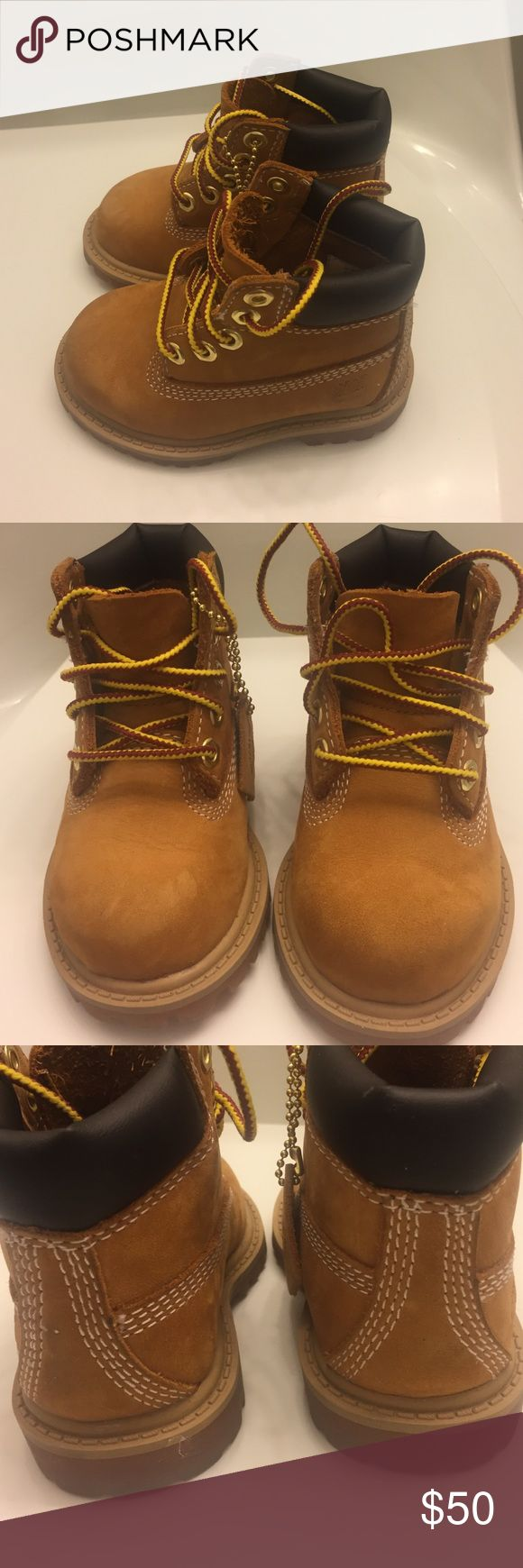 Classic timberland constructs Classic constructs for sale in toddler size 4. THESE ARE FOR BABIES. Just so there is not any confusion. They have been worn a couple times but are still in very good condition. Timberland Shoes Boots