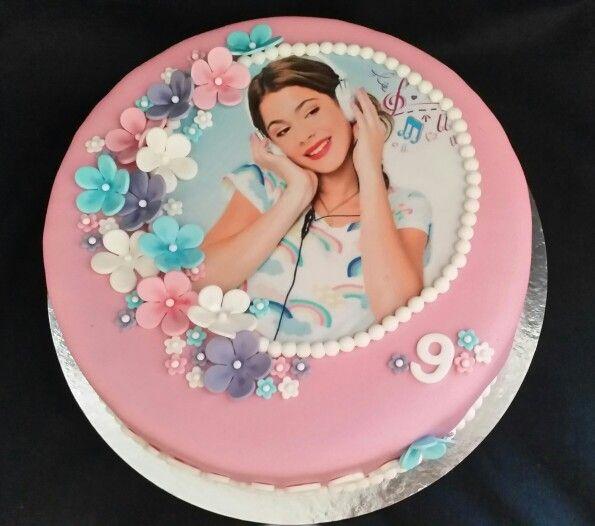 Violetta cake / violetta taart