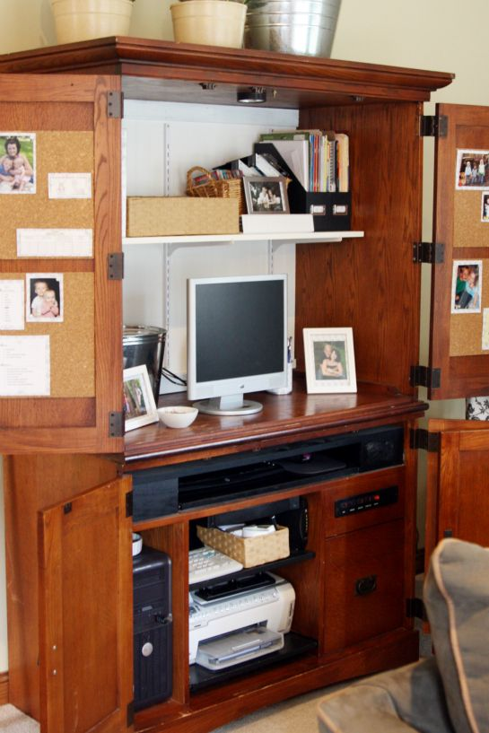 I Want To Do This In Our Bedroom So That The Computer/office Stuff Can Be  Hidden When Not Being Used.