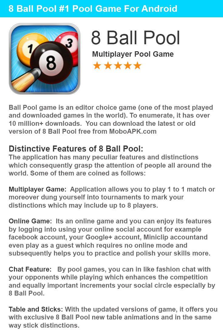 8 ball pool free download old version