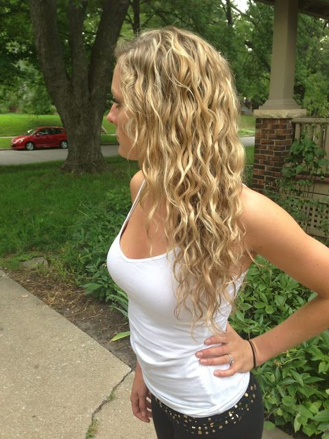 curly hair products! I want my hair to be like this.