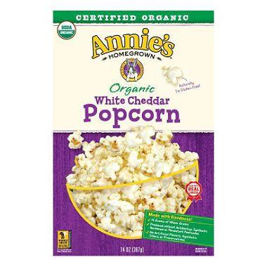 $3.73 Annie's Organic White Cheddar Popcorn (14 oz.) - Sam's Club
