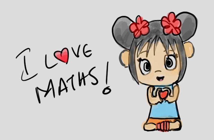 """Kai-lan says """"I love maths!"""""""