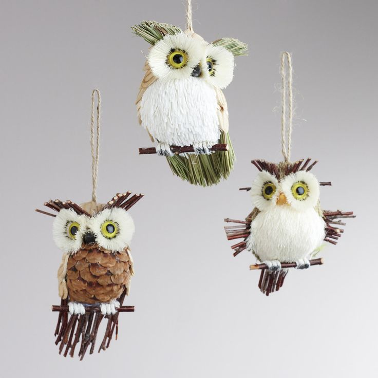 how to make bird ornaments for tree out of pine cones | With the holiday season almost upon us, I thought I'd share some ...