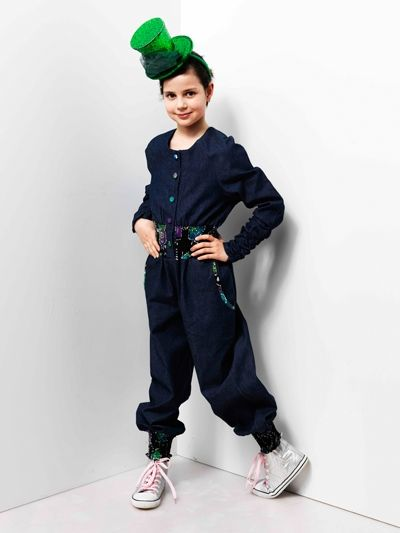 Maddie jumpsuit  Price: £40.00  Girls Jumpers | Girls Jumpsuits UK | Kids Jumpsuits UK The Maddie Jumpsuit is fa-bu-lous, fabulous. It's an all-in-one sassy outfit for the girl who wants it all. Pair with some winter warmer booties and a snug scarf and you're good to go. Available in demin 100% cotton or Jersey which is depending on availability 100% or Man-made. All Machine Washable.
