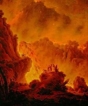 Michael Wutky - Eruption of Vesuvius -