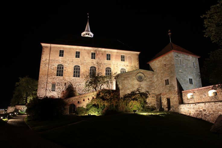 Akershus Festning- Oslo, Norge. #fortress #visitoslo