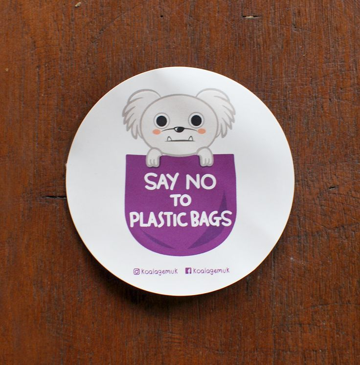 Support Bali dogs and be fantastic without plastic. Koala Gemuk is an ambassador for rescue dogs & the environment #plastic #bag #saynottoplastic #dog #reduce #bringyourownbag #adoption #rescuedog #sticker  Contact: koalagemuk2013@gmail.com