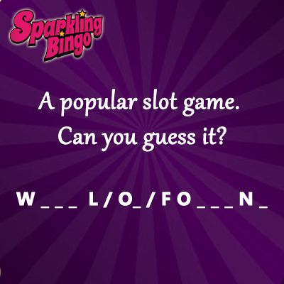 Guess the #slot game and win #freetickets to our popular game BingOpera. Join us on #Facebook for more such contests. Up to £60 #bonus to be won every month
