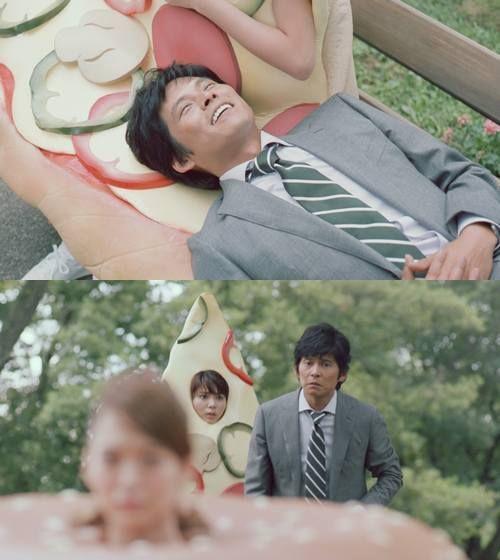 【画像】ピザ子とバガ子に揺れる織田、「ペプシスペシャル」CMでコミカル演技。 - ライブドアニュース