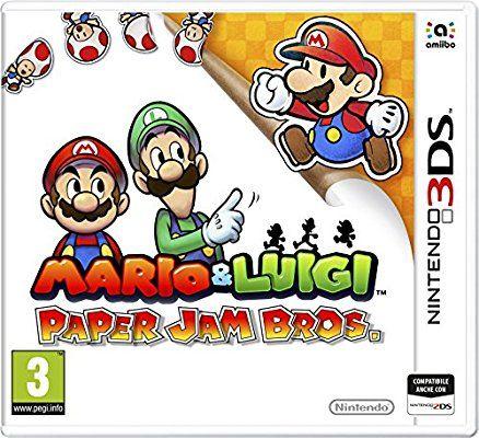Nintendo Mario and Luigi: Paper Jam, 3DS - video games (3DS, Nintendo 3DS, Physical media, Action / RPG, Alpha Dream, 22/01/2016, E (Everyone))