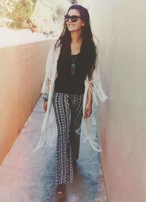 Lisa Cimorelli hippie style ♥
