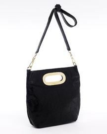 black simple michael kors shoulder bag