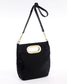 black simple michael kors shoulder bag