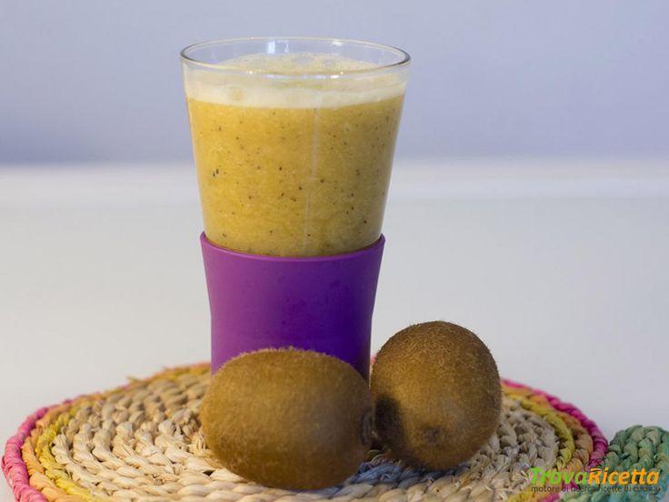 Frullato al kiwi per fare il pieno di vitamine  #ricette #food #recipes