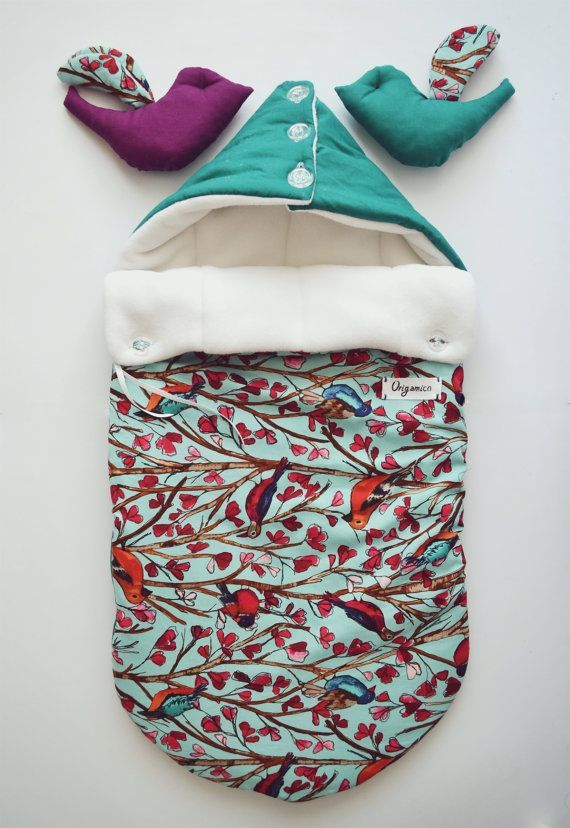 Sleeping bag for newborn autumnwinter by OrigamicoWorkshop, $70.00
