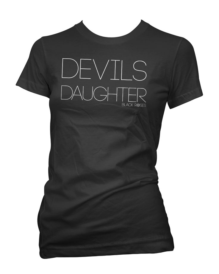 Black Roses Apparel - Clothing for the mysterious, dark and curious individual. Come as you are. http://www.blackrosesapparel.com/products/11770413-devils-daughter-tee-shirt-black   Available as a racer back Tank Top, Womens T-Shirts and Mens Tee Shirts. www.BlackRosesApparel.com Copyright © 2000 - 2015 Black Roses Clothing