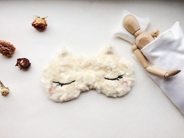 """Маска для сна. Серия """"Животные"""" в магазине «Kololeeva Hand Made» на Ламбада-маркете"""