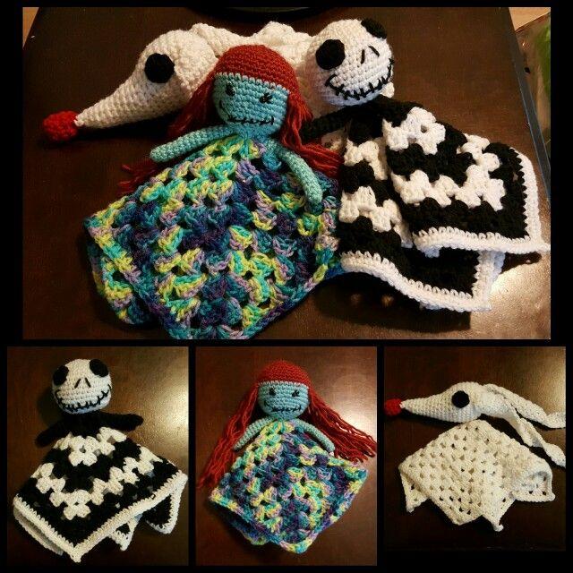 Nightmare Before Christmas crochet Lovey