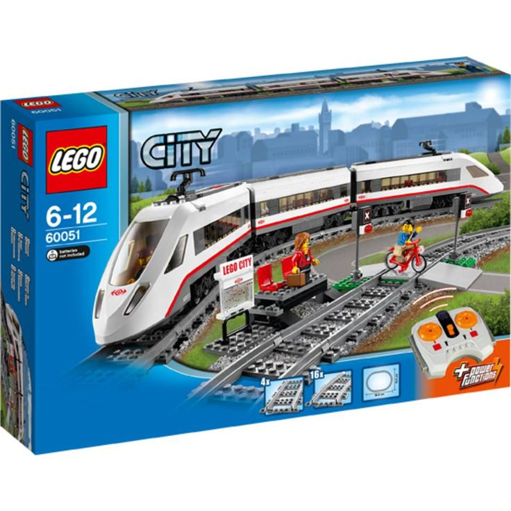 Image for LEGO City hogesnelheids passagierstrein 60051                                                                                    from Bart Smit