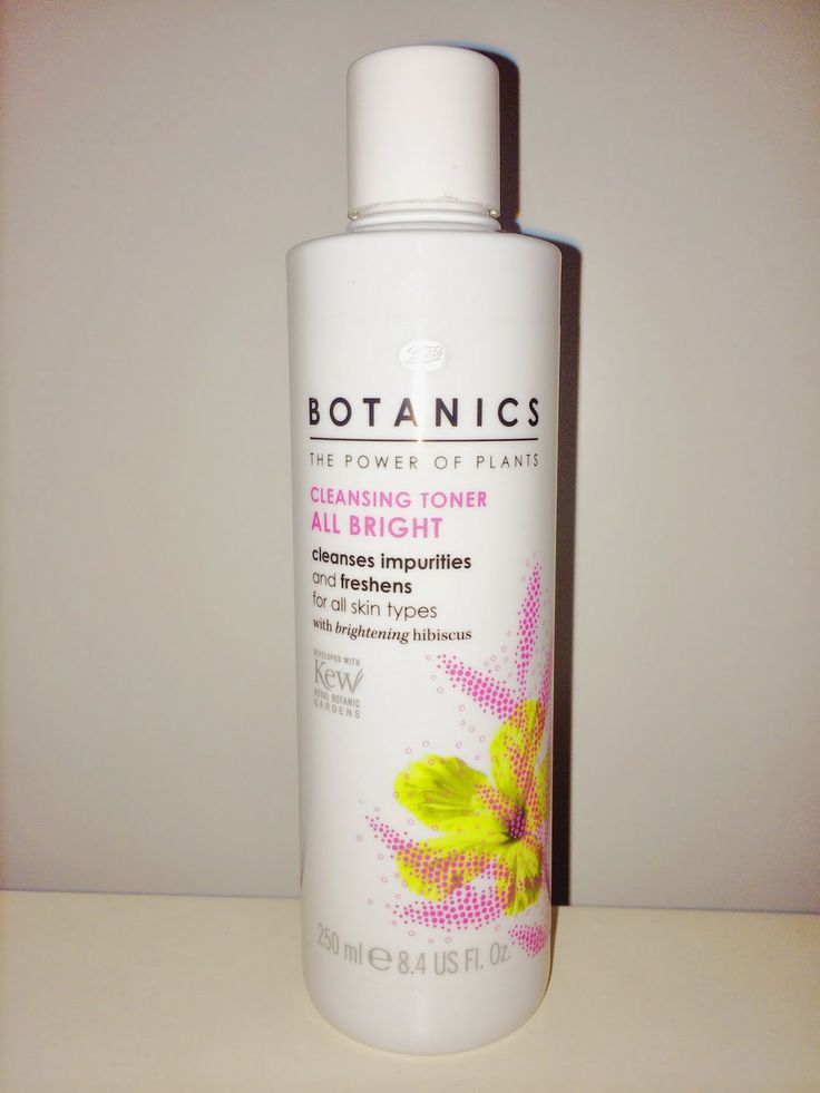 Review: Boots Botanics All Bright Cleansing Toner thegirlinspired.co.uk