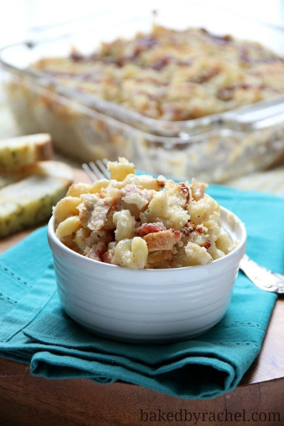 Barbecue Chicken Macaroni And Cheese