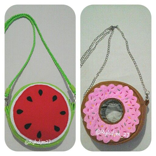 Donuts bag Watermelon bag