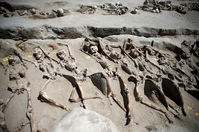 AWAKENING FOR ALL: Archaeologists unearth mass Ancient Greek executio...
