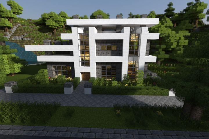 minecraft house ideas xbox 360 Realistic Modern Minecraft