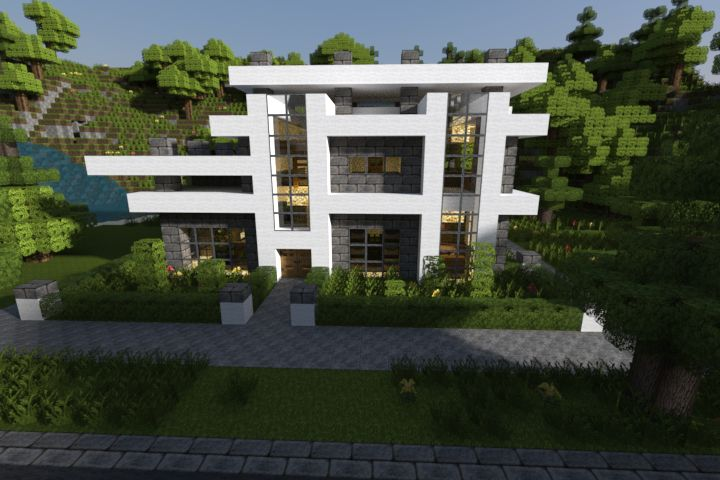 minecraft house ideas xbox 360 | Realistic & Modern Minecraft Houses ...