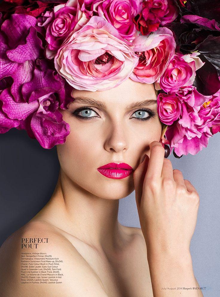 Harper's Bazaar Arabia July/August 2014 - Vivienne Balla
