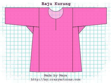 Tutorial - Baju Kurung Teluk Belanga