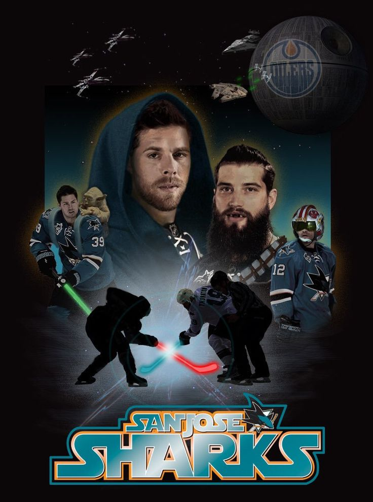 San Jose Sharks!!! May The Force Be With You