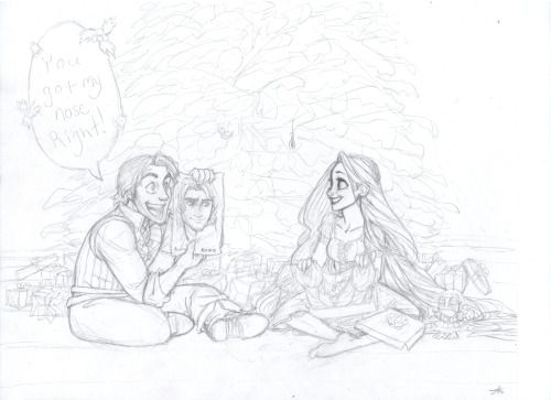 Tangled Christmas - Unfinished by ~AlexandriaMonik Tangled colored Christmas - WIP by ~AlexandriaMonik