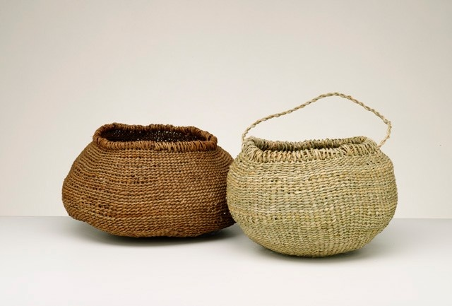 Traditional Aboriginal Basket Weaving : Best images about aboriginal weaving on