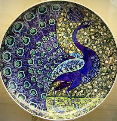 bensozia: William De Morgan, Victorian Ceramicist