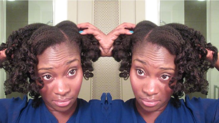 {132} Chunky Curls on Fine Natural Hair