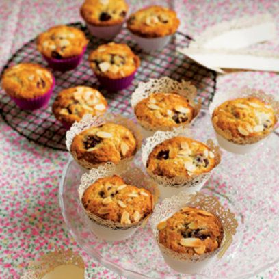 Tana Ramsay's Cherry and Almond Buttermilk Muffins recipe. For the full recipe, click the picture or visit RedOnline.co.uk
