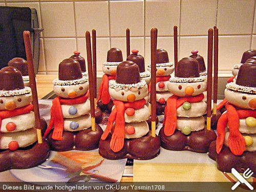 Schneemänner, ein tolles Rezept aus der Kategorie Weihnachten. Bewertungen: 59. Durchschnitt: Ø 4,5.