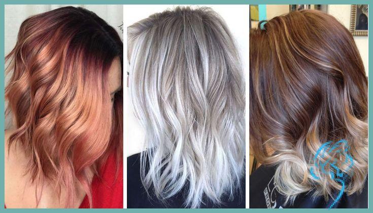 Balayage Haarfarben für Sommer Frisuren 2019 » Frisuren 2018 Neue … | Damen Frisuren