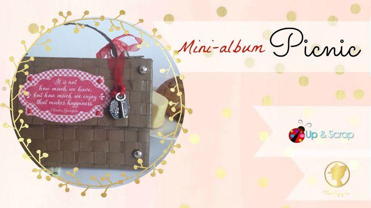 Tutorial Mini album picnic con la colección Cheerfull de Autentique