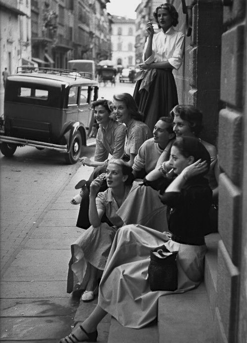 Italy 1951 Photo: Milton Greene