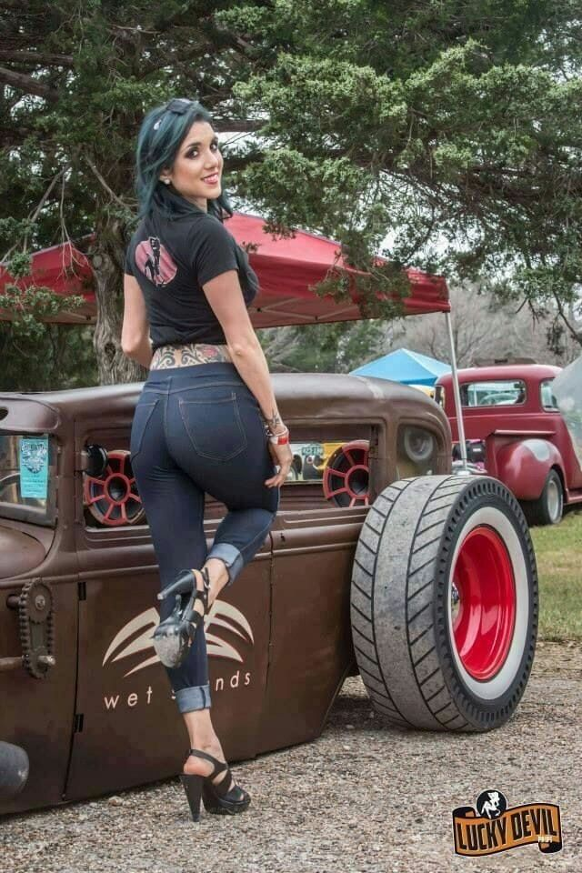 Think, what amature hot rod pin up girls all