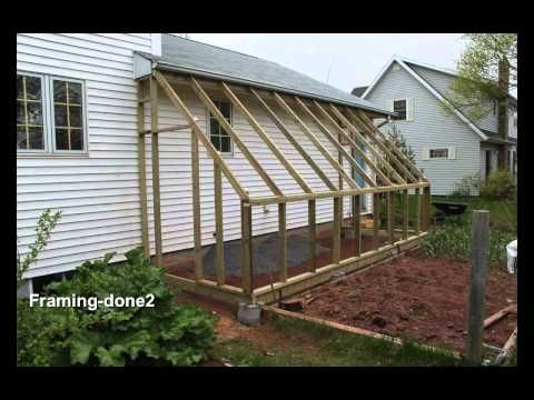 Basic lean-to style greenhouse. Under $600 for materials.