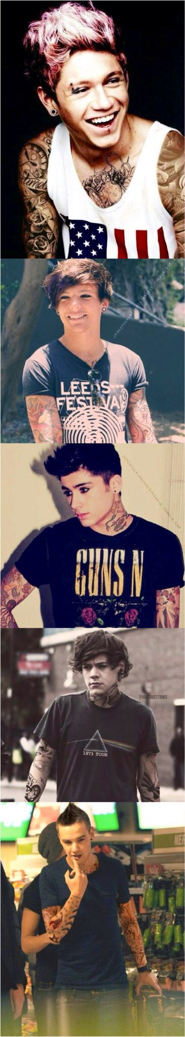 Punk One Direction Edits??????  <<< I felt was about to throw up...my stomach felt better after I saw this